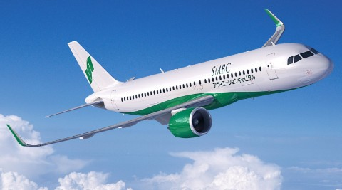 日本住友航空公司订购的A320neo飞机总订单已达到了181架