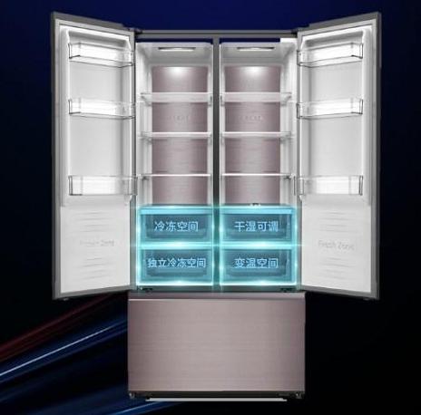 容声推出美式对开门冰箱 从龙8国际娱乐网站到功能真正给消费者精致养鲜生活