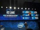 CES上,Intel展示了第一款10纳米的Ice Lake处理器