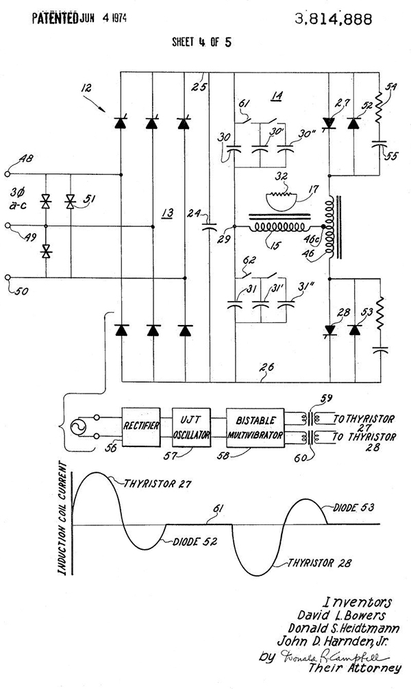 射频能量的感应加热技术与设计解决方案