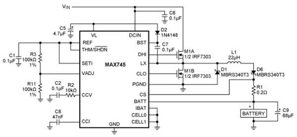 新兴锂离子电池充电技术的优点及应用