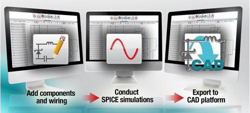 改進的在線軟件工具在WEBENCH環境中模擬自定義電源設計
