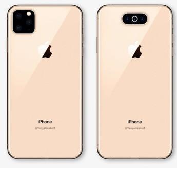 2019年苹果款新iPhone曝光将采用横版三摄或是浴霸三摄设计