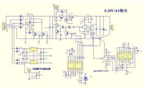 0-30V 4A数控稳压电源的资料合集免费下载