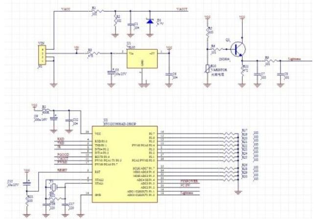 单片机16F690的PWM脉宽调制演示实例程序说明