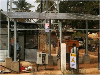 如何利用小型太阳能电池提高地区的3G连接和LTE...