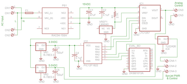 利用無線接口實現LED線性調光驅動器的控制