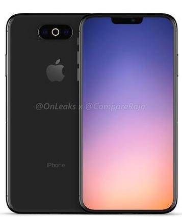 2019年推出的iPhone将会有一款采用三镜头摄像头设计