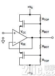 详解如何利用自举扩展运算放大器工作的范围