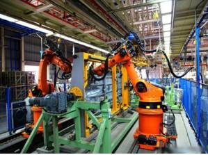 随着德国工业4.0的到来 机器人开始不断升级为智能机器人