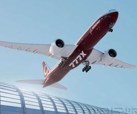 全球最大效率最高的双发民用喷气机波音777X内饰展示