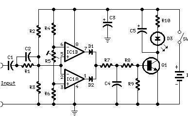 功放机上的削波指示灯究竟是如何工作的?