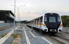 澳首次试运行首列无人驾驶城市列车