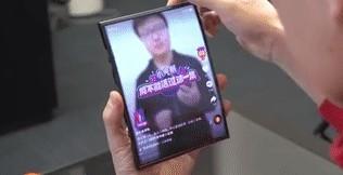 小米已经研发出了全球第一台双折叠手机