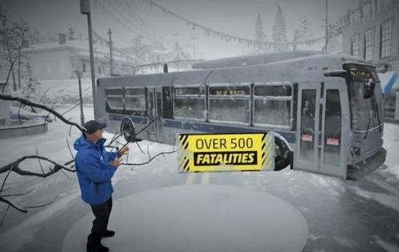 天气频道推出MR技术来展示各种天气状况的影响