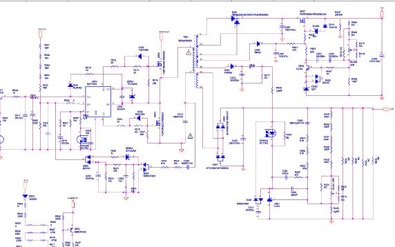 长虹液晶电视R-HS310B-5HF01的电源板电路原理图免费下载