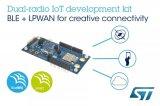 意法半导体双射频Bluetooth/LPWAN物联网开发套件