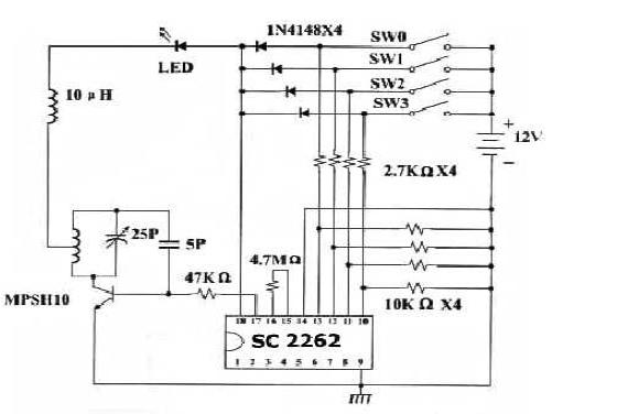 无线接收模块的使用说明和RF无线接收实验程序免费下载