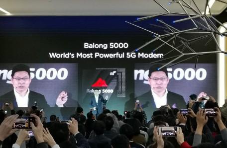 华为推出巴龙5000基带芯片多项性能据世界第一