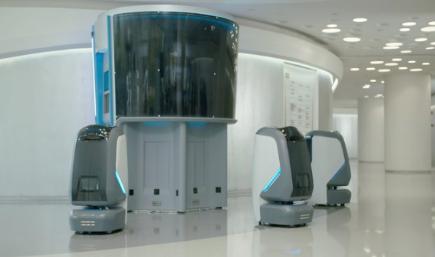 中美国是电商物流的两个重要市场 对配送型机器人研发投入也最大