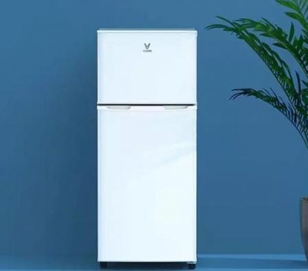 云米推出118升双门冰箱 以低能耗著称