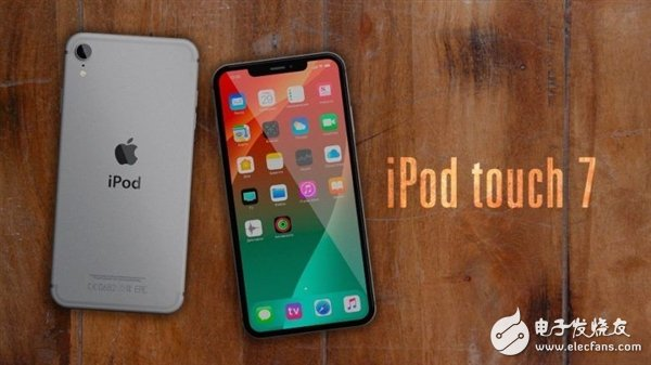 新一代iPodtouch概念图曝光 采用最新刘海屏设计并搭载A11处理器