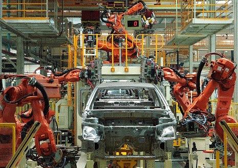 国内工业机器人产业刚刚起步 但增长的势头非常强劲