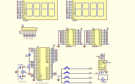使用AT89C52设计的八位电子时钟资料合集免费下载