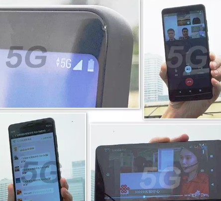 中国联通携手中兴通讯成功实现了5G终端的First call多元业务验证