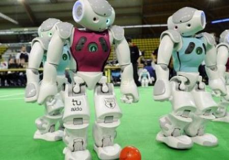 中国的机器人密度在全球成长速度最快
