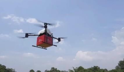 京东物流无人机在印尼首次成功实现飞行