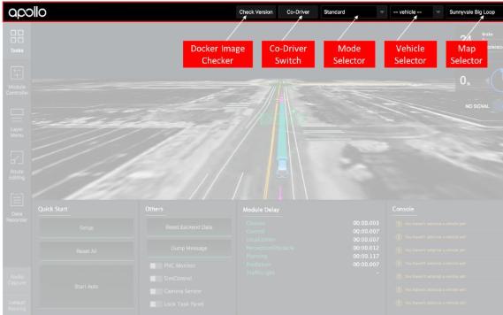自動駕駛前端軟件DreamView的使用介紹