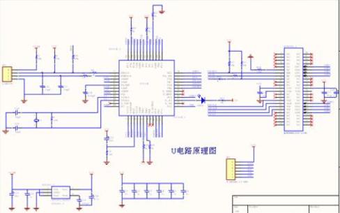 U盘的原理图和PCB图资料免费下载