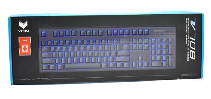 雷柏V708多模游戏键盘评测 游戏性能和酷炫背光令人印象深刻