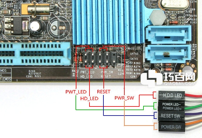 電腦主板的跳線連接方法