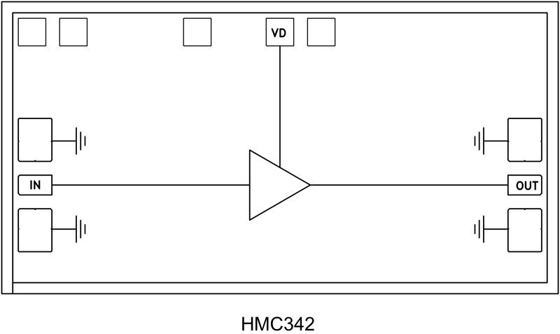 HMC342-DIE 低噪声放大器芯片,13 - 25 GHz