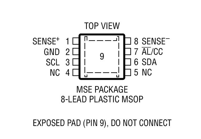 LTC2941 具 I2C 接口的電池電量測量