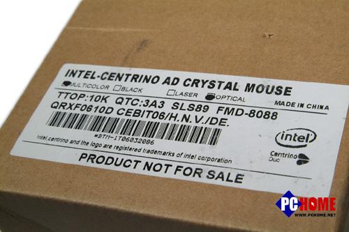 Intel迅驰广告鼠标高清拆解图集
