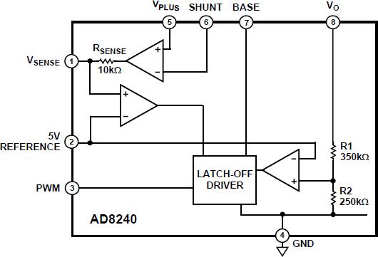 AD8240 LED 驱动器/监控器