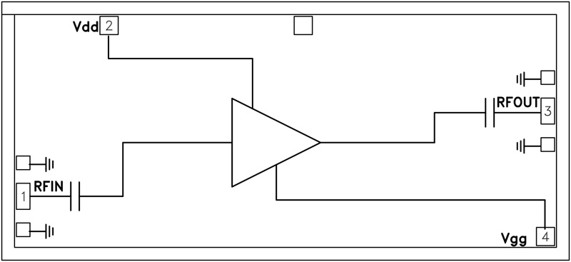 HMC562 宽带驱动放大器芯片,2 - 35 GHz