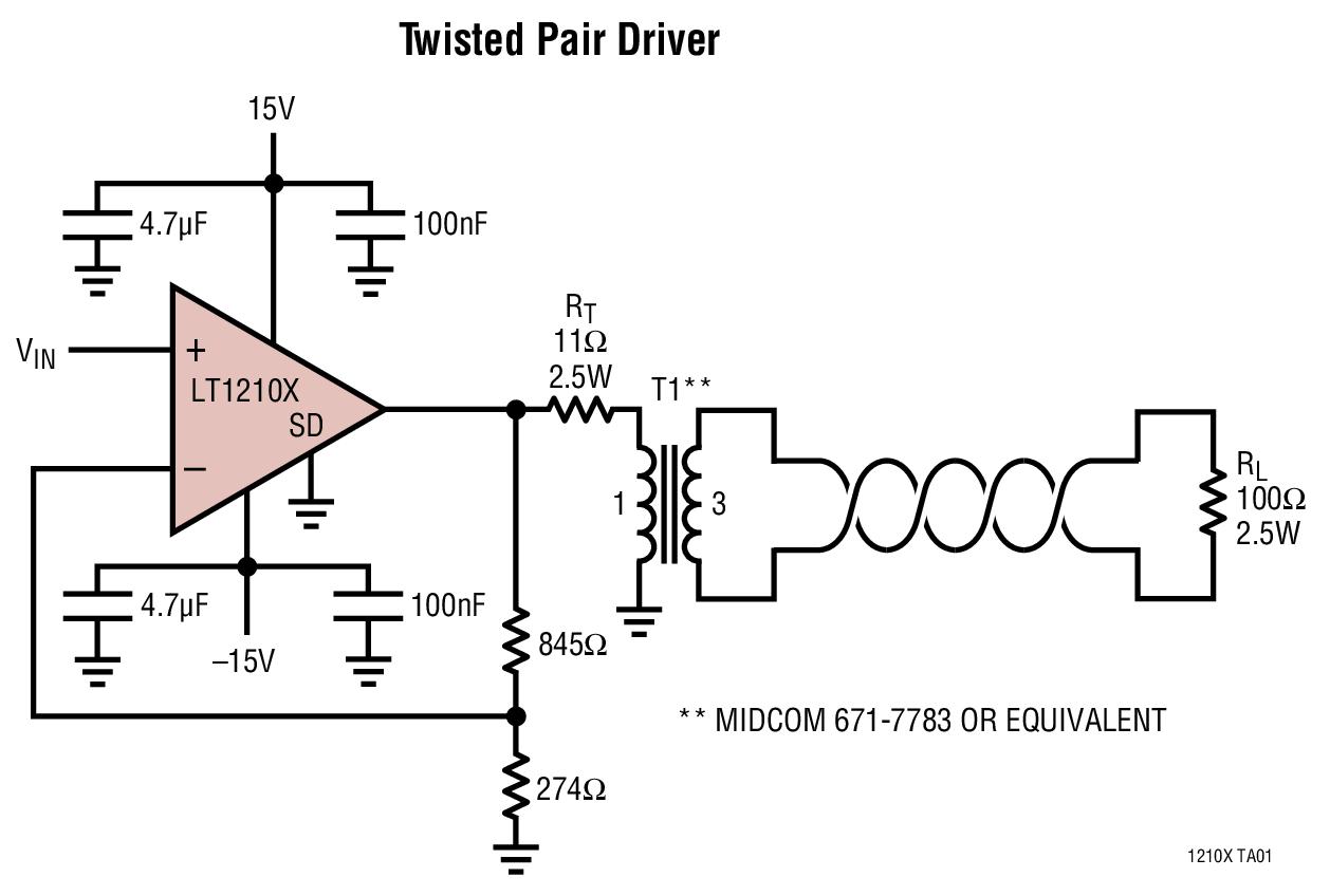 LT1210X 高温、1.0A、35MHz 电流...