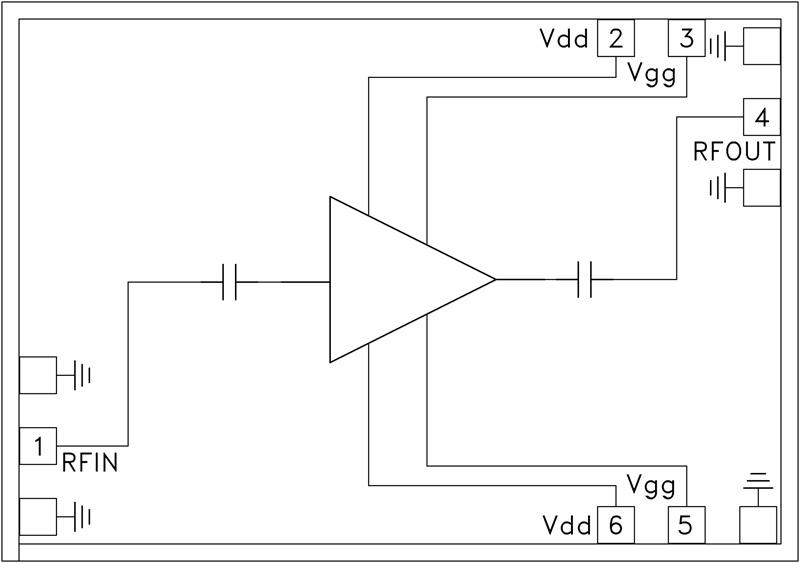 HMC-ALH216 低噪声放大器芯片,14 -...