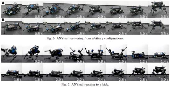 利用AI技术 ETH Zurich教会机器人如何在摔倒后爬起来