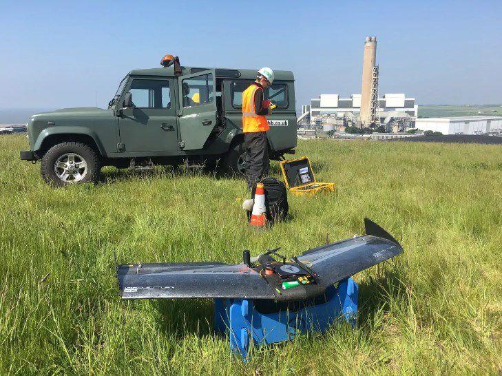 使用无人驾驶飞行器(UAV)进行库存盘点审计