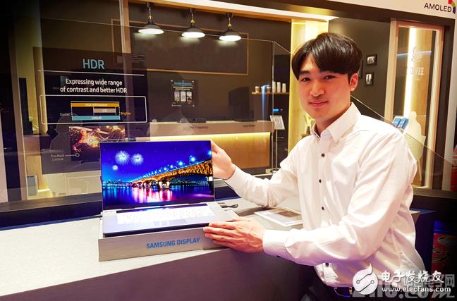 三星成功开发出世界首款15.6英寸超高清OLED显示屏
