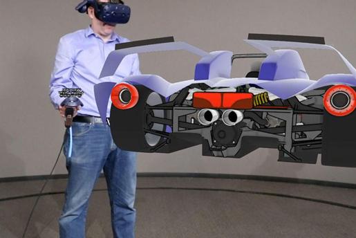 福特利用VR设计汽车3D渲染 大大提升了效率