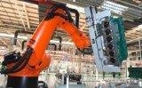 一汽集团KUKA机器人担任着颇为广泛的工作范围