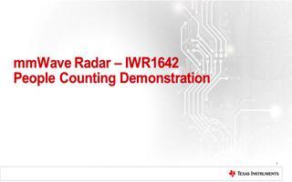 基于IWR1642 IWR在楼宇自动化的应用