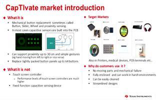 TI MCU中的触摸技术CapTIvate及应用介绍(1)