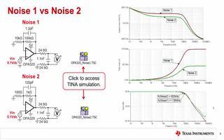 ADC前端运放电路如何受到电阻器热噪声的影响